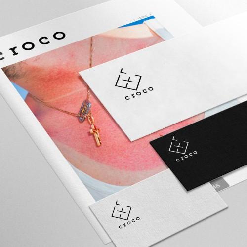 Identidad Corporativa Croco Magazine